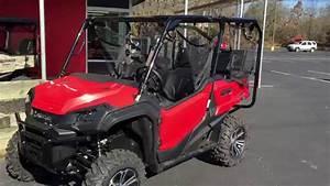 2016 Honda Pioneer 1000 5 Seater In Red   Honda Of