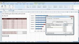 Cara Membuat Gantt Chart Di Microsoft Excel 2007