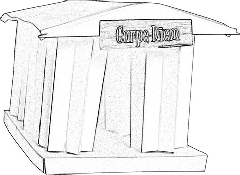Tempel Kleurplaat by Kleurplaat Griekse Tempel