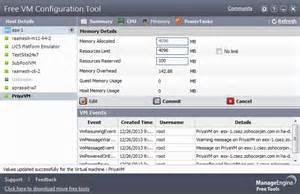 vmware esx configuration management manageengine