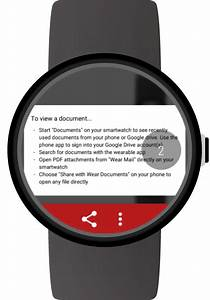 Documents for android wear android apps on google play for Documents 5 android