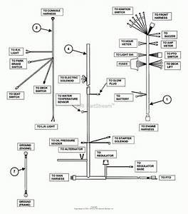 Kubota B7800 Engine Diagram