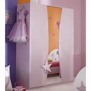 Armoire Chambre Enfant : armoire fairy lilas chambre enfant achat vente armoire de chambre armoire fairy lilas ~ Teatrodelosmanantiales.com Idées de Décoration