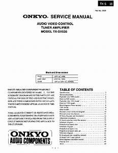Onkyo  U2013 P U00e1gina 3  U2013 Diagramasde Com  U2013 Diagramas