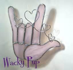 Sign Language I Love You Heart