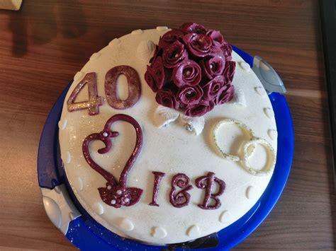 geschenke zum 40 hochzeitstag die besten 25 40 hochzeitstag ideen auf