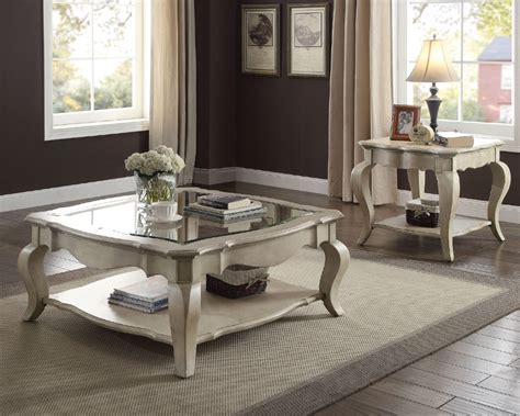 How to build storage glass top wooden coffee table at home. Chelmsford Antique Taupe Wood Coffee Table w/ Square Glass Top by Acme