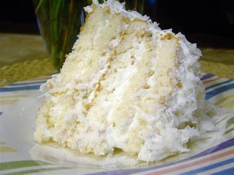 easy coconut refrigerator cake keeprecipes