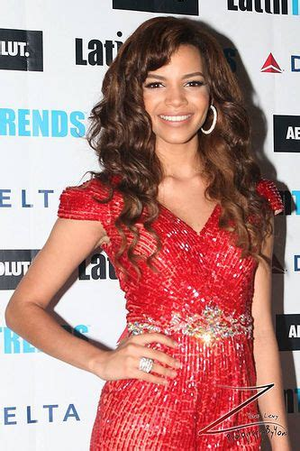 Singer Leslie Grace Last Night At the LatinTrends Magazine ...