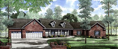 lake view home plan  architectural designs house plans