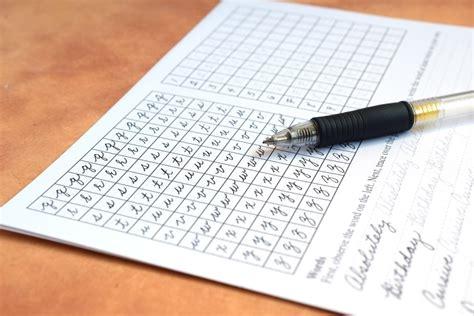 tips  improve  handwriting    worksheet