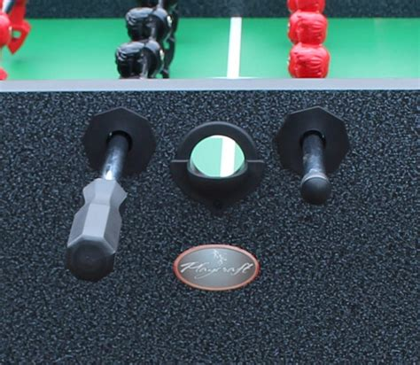 tournament choice foosball table reviews 26 25 quot charcoal playcraft pitch foosball table