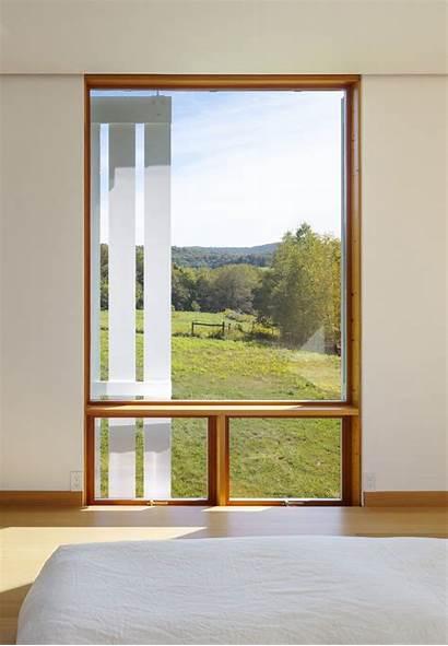 Cutler Farmhouse Anderson Pennsylvania Architects Window Bedroom