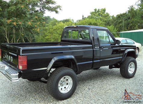 1988 jeep comanche sport truck 1988 jeep comanche base standard cab pickup 2 door 4 0l