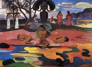 Mahana no atua (The Day of the God) | Paul Gauguin | Fine ...