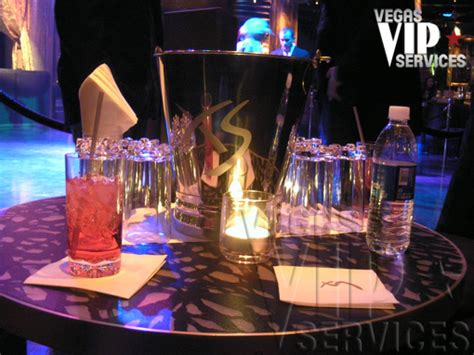 xs nightclub vegas vip services
