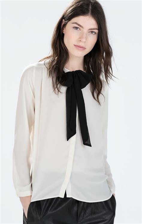 tie blouse pippa silk bow tie blouse sleeveless blouse