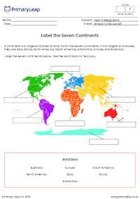 label   continents