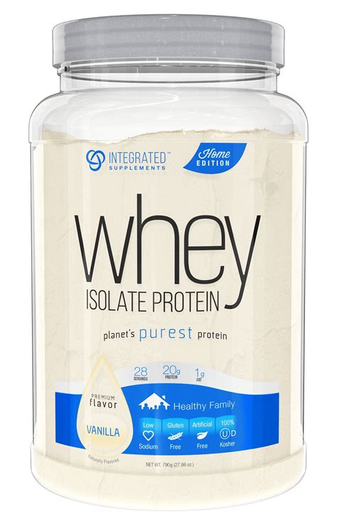 amazoncom integrated supplements cfm whey protein