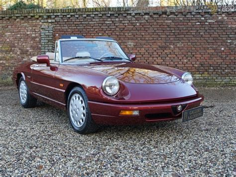 Alfa Romeo Spiders For Sale by Classic 1992 Alfa Romeo Spider For Sale 5403 Dyler