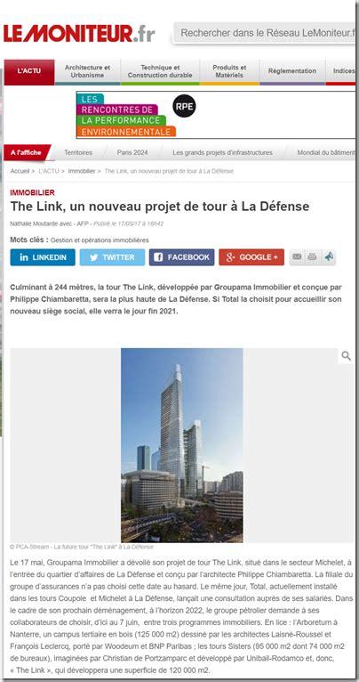 pca siege the link nouveau siège de total par pca architecture