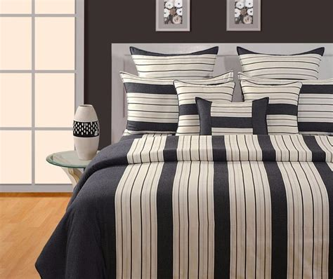 Black And White Striped Curtains Nz by Black Striped Duvet Cover Flickdeal Co Nz