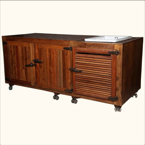 solid wood kitchen island cart solid wood ceramic buffet cabinet sink kitchen island