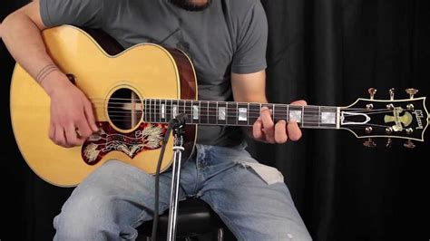 Gibson Montana Gold J200 Custom  How Does It Sound