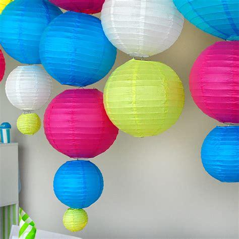 lanterne en papier boule chinoise en d 233 coration de salle
