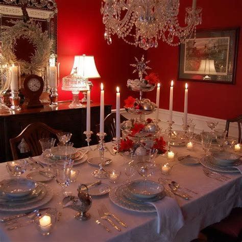 1153 best christmas table decorations images on pinterest