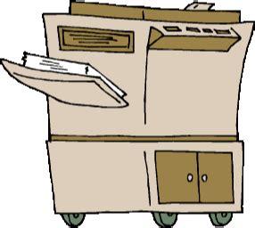 bruitage bureau clipart imprimante dinosoria