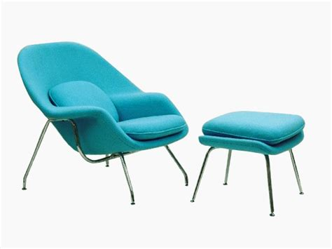 fauteuil womb turquoise