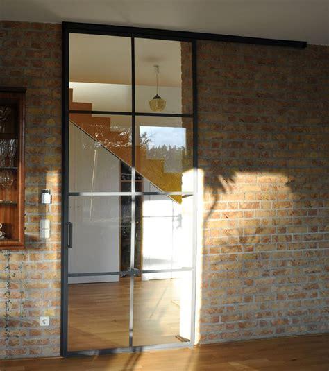 Glas Für Türen by Schlanke Stahl Glas T 252 R Wohnzimmert 252 R