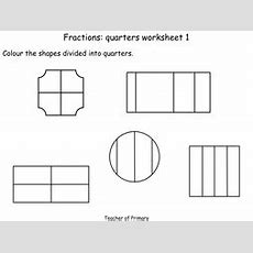 Quarters  Number  Fractions  Year 1  Animated Powerpoint Presentation And Worksheets By