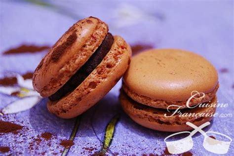 hervé cuisine macaron macaron recette chocolat