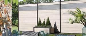 Zaun Aus Glas : zaun sichtschutz holzoptik wpc das beste aus wohndesign ~ Michelbontemps.com Haus und Dekorationen