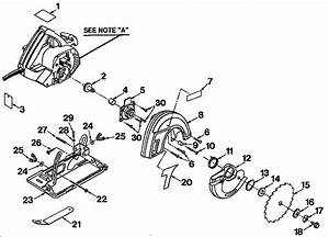 Craftsman Model 315108220 Circular Saw Genuine Parts