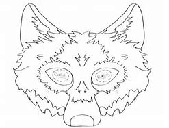Pretty Wolf Mask Template Photos >> 3 Little Pigs Mask Craft ...
