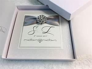 beautiful boxed wedding invitations uk amor designs With cost of boxed wedding invitations