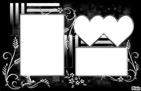montage photo cadre 3 photos montage photo le petit cadre pour les amoureux x3 pixiz