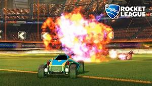 Car exploding in Rocket League wallpaper - Game wallpapers ...