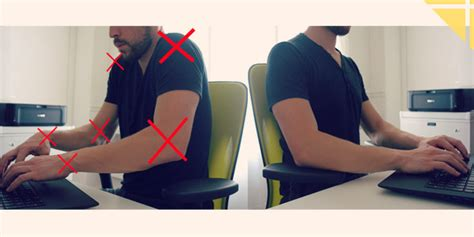 position ergonomique au bureau eviter les douleurs du cou au bureau une astuce simple