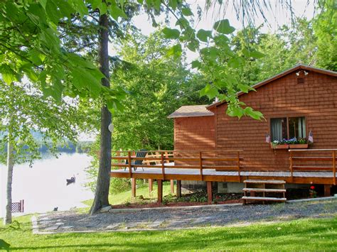 lakefront cabins for rent the cozy moose visit mainevisit maine