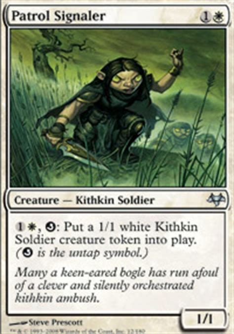 Kithkin Deck Magic The Gathering by Kithkin Spellduster Eventide Magic The Gathering