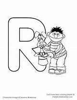 Coloring Sesame Street Alphabet Yahoo Letters Sheets Results Characters Comments sketch template