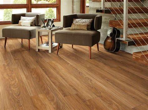Teak Resilient Vinyl Flooring
