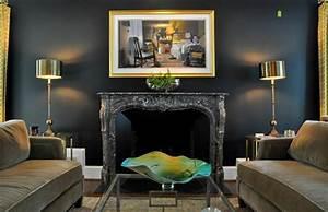 Peindre les murs interieurs dans des couleurs sombres for Quel couleur pour faire du marron en peinture 9 peindre les murs interieurs dans des couleurs sombres