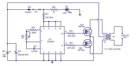 skema rangkaian elektronika  hobby