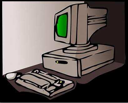 Komputer Computer Era Macintosh Clipart 1990s Cliparts