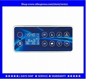 Chinese Hot Tub Spa Controller Control Panel Keypad Gd800